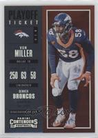Season Ticket - Von Miller /249