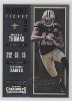 Season Ticket - Michael Thomas /249