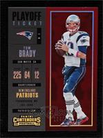 Season Ticket - Tom Brady #/249