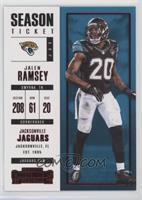 Season Ticket - Jalen Ramsey