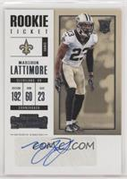 Rookie Ticket - Marshon Lattimore