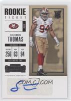 Rookie Ticket - Solomon Thomas