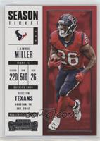Season Ticket - Lamar Miller