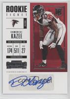 Rookie Ticket - Damontae Kazee
