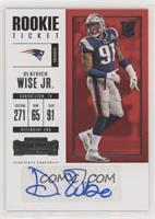 Rookie Ticket - Deatrich Wise Jr.