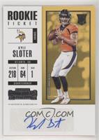 Rookie Ticket/Rookie Ticket Variation - Kyle Sloter