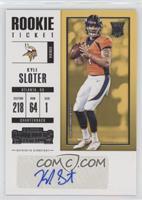 Rookie Ticket/Rookie Ticket Variation - Kyle Sloter