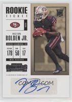 Rookie Ticket/Rookie Ticket Variation - Victor Bolden Jr.