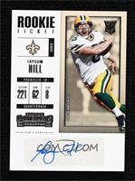 Rookie Ticket/Rookie Ticket Variation - Taysom Hill [Noted]