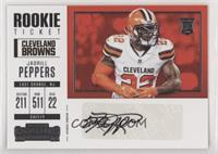 Rookie Ticket/Rookie Ticket Variation - Jabrill Peppers