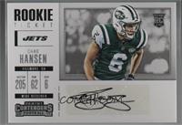 Rookie Ticket/Rookie Ticket Variation - Chad Hansen