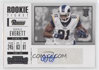 Rookie Ticket/Rookie Ticket Variation - Gerald Everett