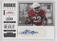 Rookie Ticket/Rookie Ticket Variation - T.J. Logan
