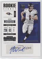 Rookie Ticket/Rookie Ticket Variation - Josh Woodrum