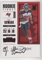 Rookie Ticket RPS - O.J. Howard