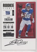 Rookie Ticket RPS - Evan Engram