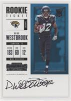 Rookie Ticket RPS - Dede Westbrook