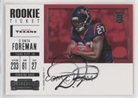Rookie Ticket Variation RPS - D'Onta Foreman