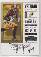 Veteran Ticket - Terrelle Pryor Sr.