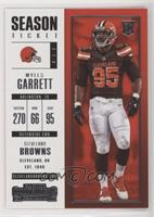 Season Ticket - Myles Garrett [EXtoNM]