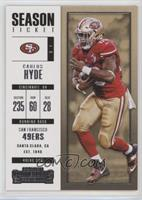 Season Ticket - Carlos Hyde