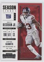 Season Ticket - Odell Beckham Jr.
