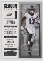 Season Ticket - Alshon Jeffery