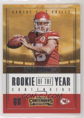 2017 Panini Contenders - Rookie of the Year Contenders #RY-3 - Patrick Mahomes II