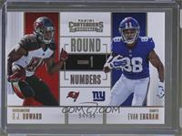 O.J. Howard, Evan Engram /99