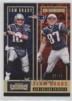 Tom Brady, Rob Gronkowski, James White, Brandin Cooks /99