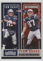 Rob Gronkowski, Tom Brady, Brandin Cooks, James White /199