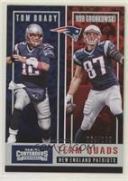 Tom Brady, Rob Gronkowski, James White, Brandin Cooks #/199