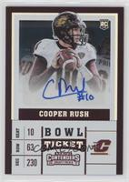 College Ticket - Cooper Rush (Holding Football) #10/99