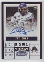 College Ticket - Zay Jones /99