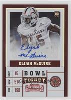 College Ticket - Elijah McGuire /99