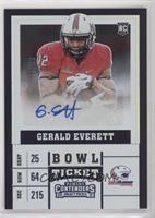 College Ticket - Gerald Everett /99