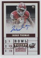College Ticket - Jahad Thomas /99