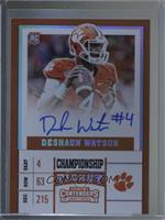 College Ticket Variation - Deshaun Watson /1