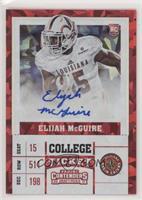 College Ticket - Elijah McGuire /23