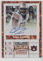 College Ticket - Carl Lawson #/23