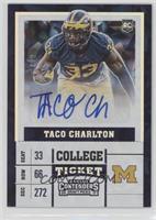 College Ticket - Taco Charlton #/23