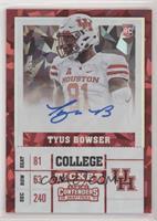 College Ticket - Tyus Bowser #/23