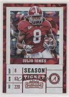 Season Ticket - Julio Jones #/23