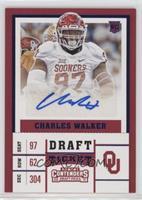 College Ticket - Charles Walker