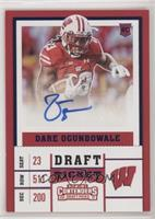 College Ticket - Dare Ogunbowale [EX to NM]
