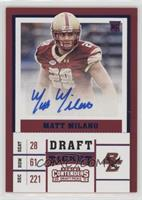 College Ticket - Matt Milano