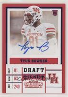 College Ticket - Tyus Bowser