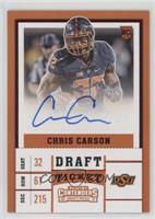 College Ticket - Chris Carson