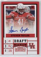 College Ticket - Steven Taylor