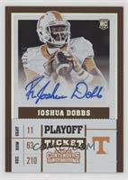 College Ticket - R. Joshua Dobbs /15